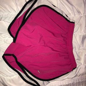 Pink nike shorts!